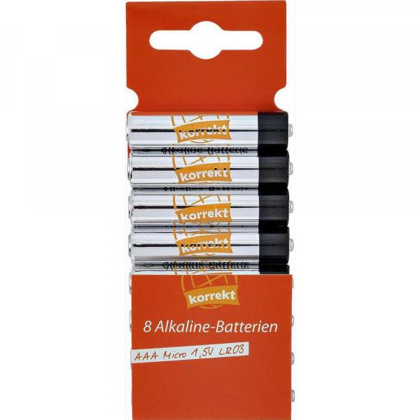 Micro Batterien LR03 AAA, Alkaline