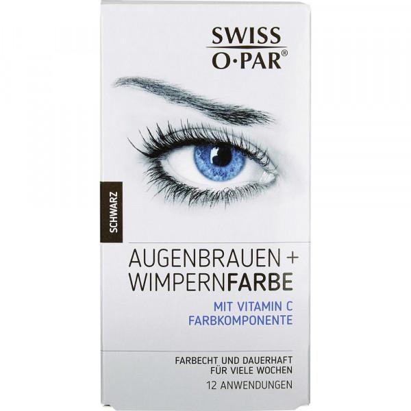 Augenbrauen + Wimpernfarbe, Schwarz