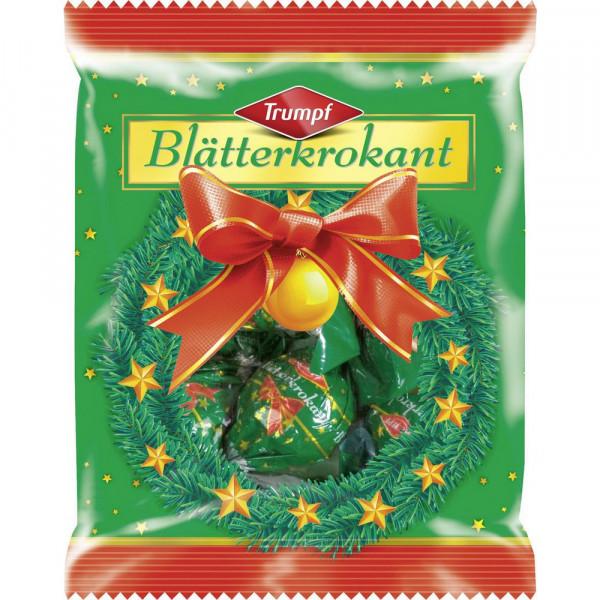 Blätterkrokant Weihnachtskugeln