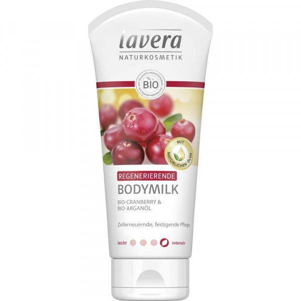 Regenerierende Bodymilk, Cranberry & arganöl