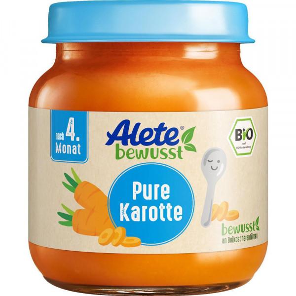 Babynahrung, Bio Pure Karotte