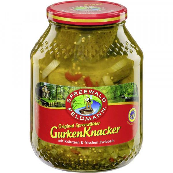 """Gewürzgurken """"Grüne Knacker"""""""