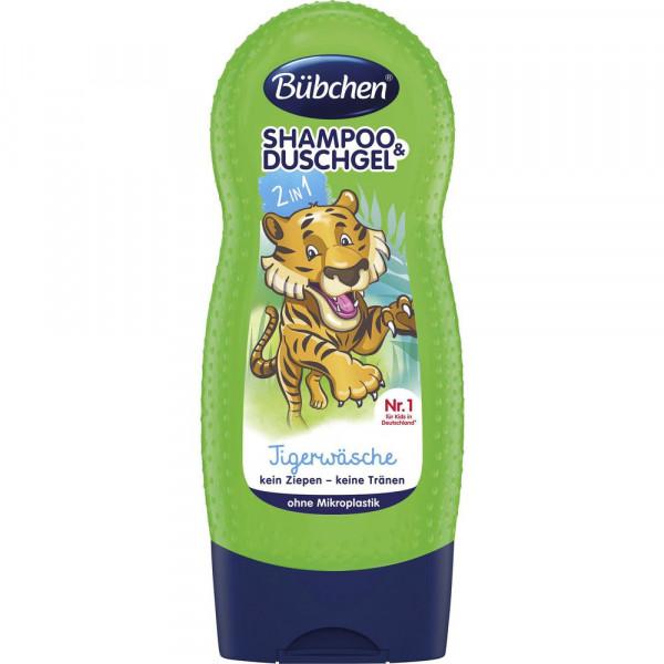 "Duschgel & Shampoo ""Tigerwäsche"", Kids 2 in 1"