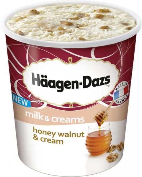Honey Walnut & Cream Eiscreme