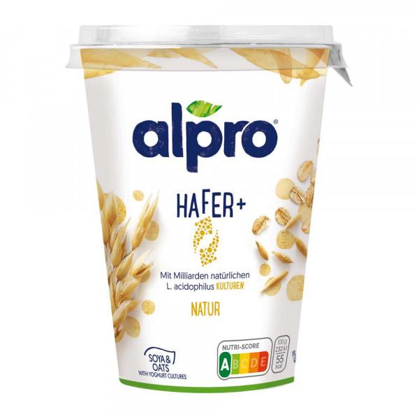 "Soja-Joghurtalternative ""Hafer+"", Natur"