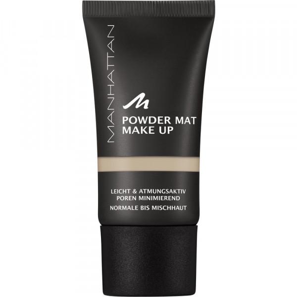 Make-Up Puder Mat, Beige 82