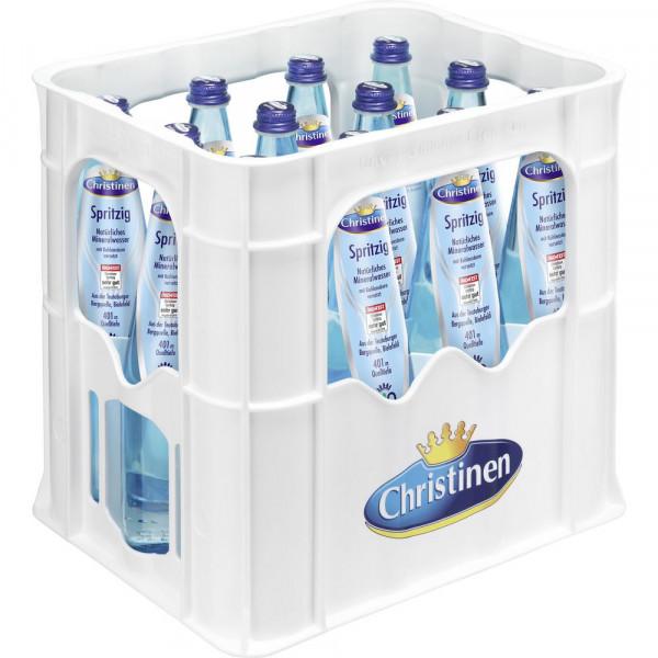 Bio Mineralwasser, Spritzig (12 x 0.75 Liter)