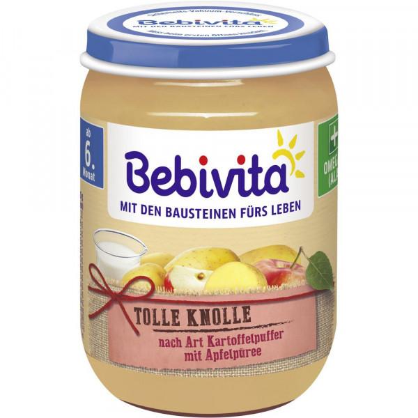 Babynahrung Menü, Kartoffelpuffer/Apfelpüree