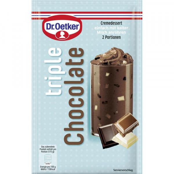 "Cremedessert, ""Triple Chocolate"""
