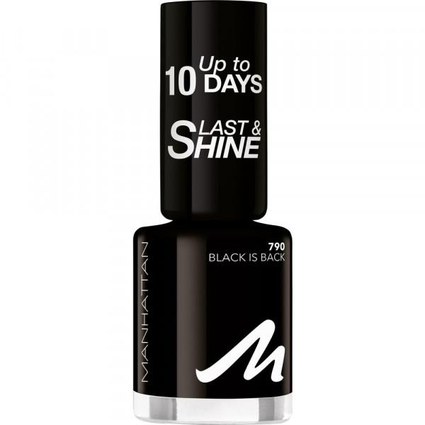 Nagellack Last & Shine, Black Is Back 790