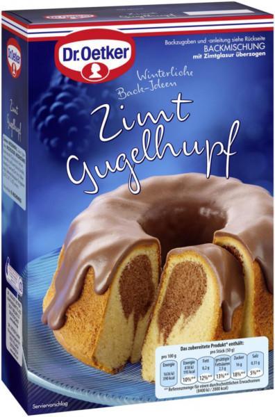 Winter Zimt Gugelhupf, Kuchen Backmischung