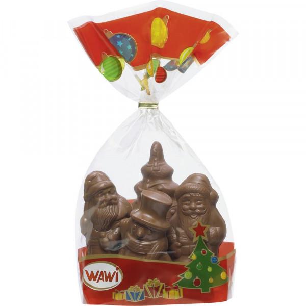 Schokoladen-Weihnachtsfiguren