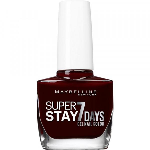 Nagellack Superstay 7 Days, Midnight Red 287