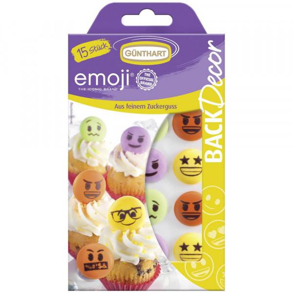 """Zuckerdekoration """"Emojis"""", bunt"""