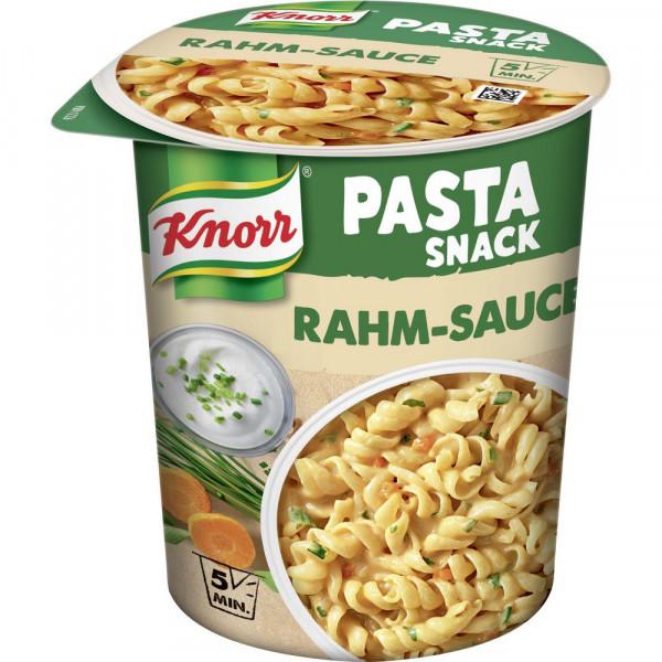 Pasta Snack, Rahm-Sauce