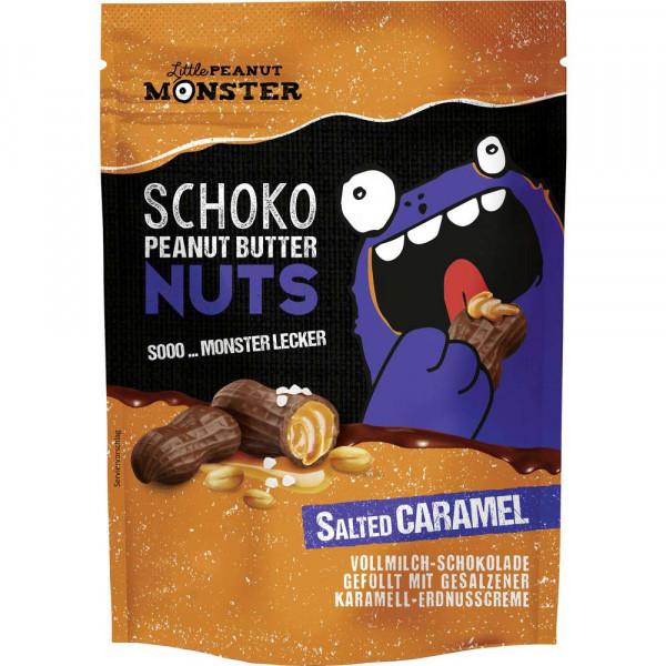 """Schokonüsse """"Erdnussbutter"""" Salzkaramell"""