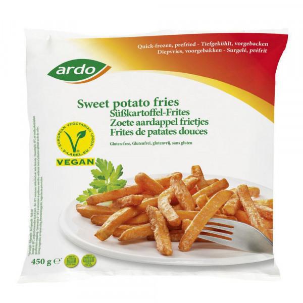 Süßkartoffel Pommes Frites, tiefgekühlt