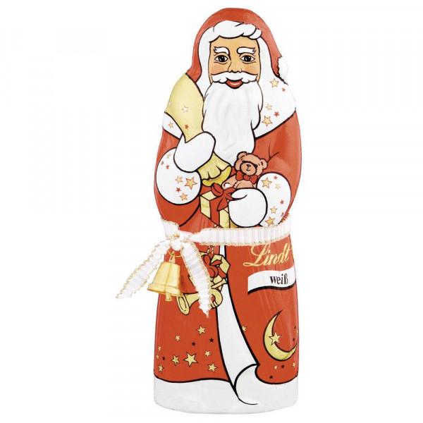Schokoladen-Weihnachtsmann, weiß