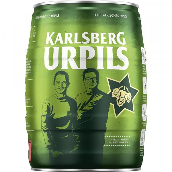Pilsener Bier Fässchen, herb 4,8%