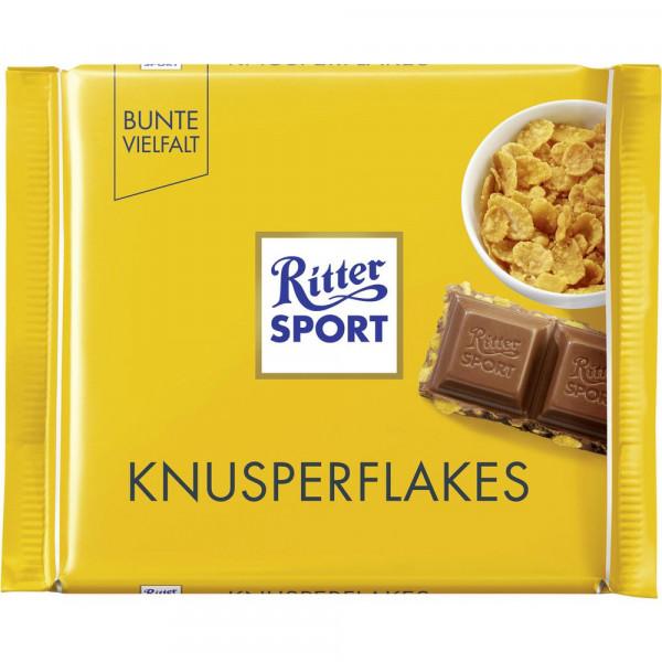 Tafelschokolade, Knusper Flakes