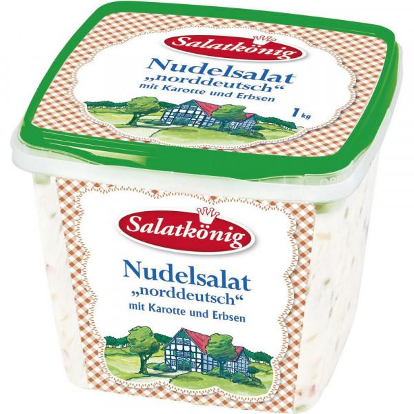 """Nudelsalat """"norddeutsch"""", Karotte & Erbsen"""