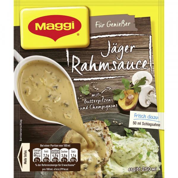 Genießer Sauce, Jäger Rahm