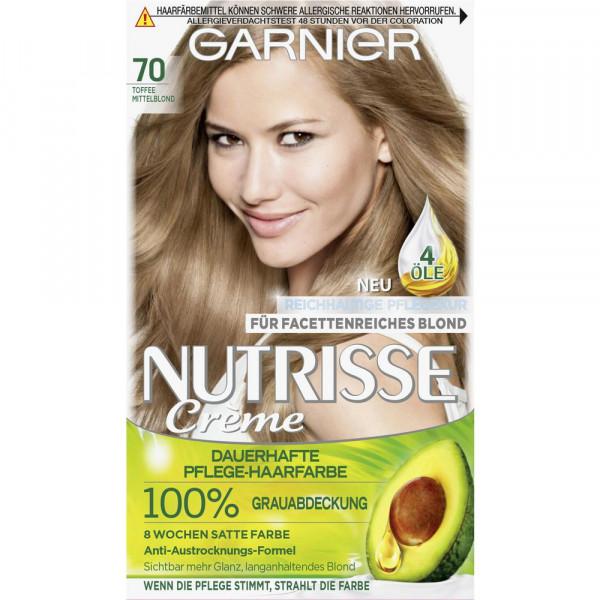 """Haarfarbe """"Nutrisse"""", 70 Mittelblond"""