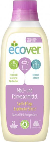 Ökologisches Woll- & Feinwaschmittel flüssig, Wasserlilie/Honigmelone