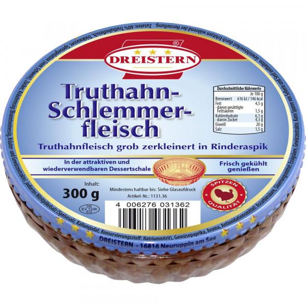 Truthahnfleisch, in Rinderaspik