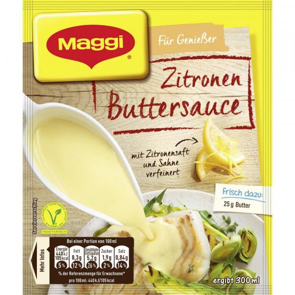 Genießer Sauce, Zitronen Butter