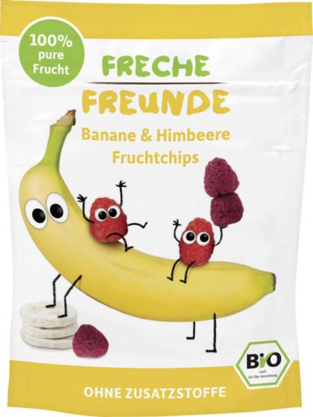 Fruchtchips, Banane & Himbeere