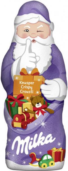 Schokoladen-Weihnachtsmann, Crunchy
