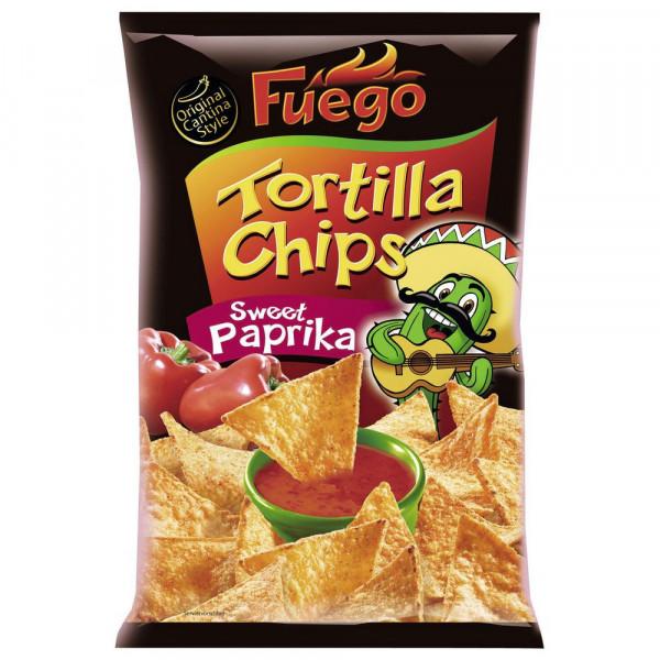Tortilla Chips, sweet Paprika