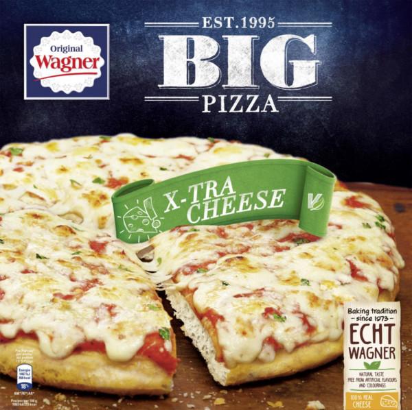 "Big Pizza ""X-tra Cheese"", tiefgekühlt"