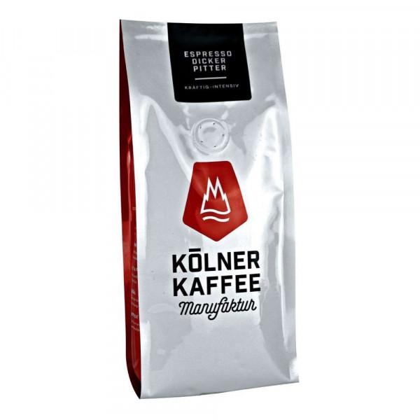 "Espresso ""Dicker Pitter"", ganze Bohne"