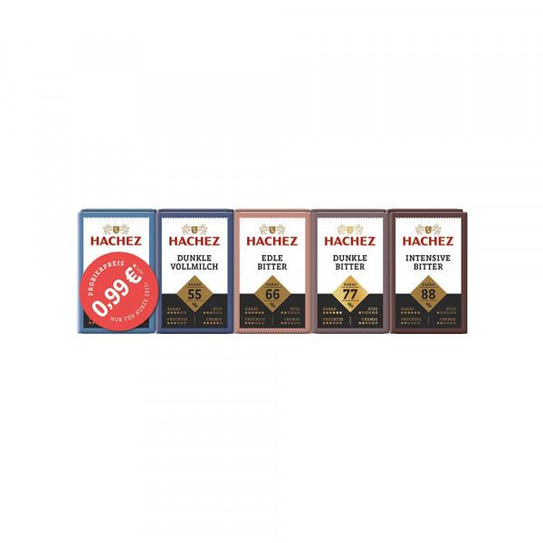 Schokolade Täfelchen Mischung