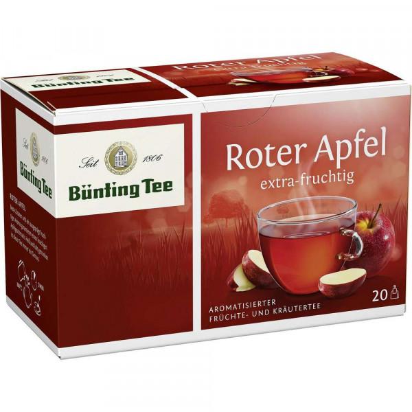 Früchtetee, roter Apfel