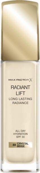 Make-Up Radiant Lift Foundation, Crystal Beige 33