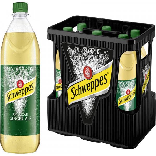 Ginger Ale (6 x 1 Liter)