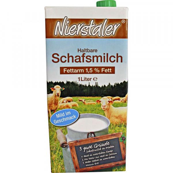 Haltbare Schafsmilch 1,5% Fett