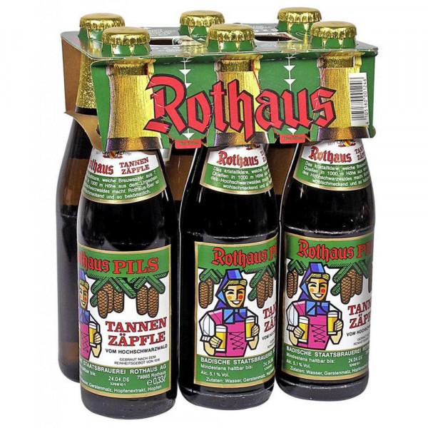 Tannenzäpfle Pilsener Bier 5,1%, (4 x 1.98 Liter)