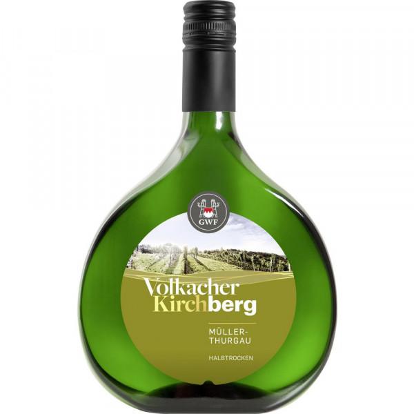 Volkacher Kirchberg Müller-Thurgau halbtrocken Franken DQW