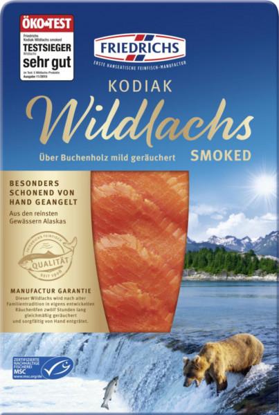 Premium Kodiak Wildlachs smoked