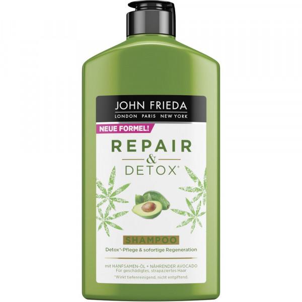 "Shampoo ""Repair & Detox"", Avocado-Öl + Grüner Tee"