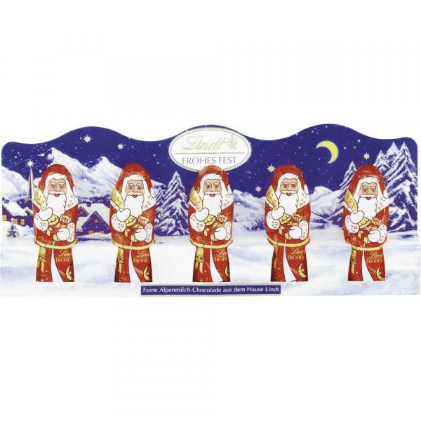 Mini Schokoladen-Weihnachtsmänner