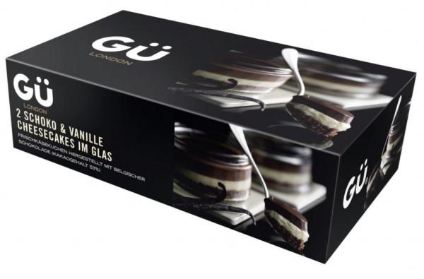 Cheesecake im Glas, Schoko-Vanille 2 x 90g