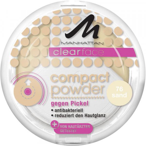 Clearface Compact Powder gegen Pickel, Sand 76