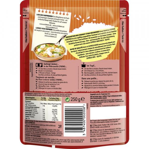 Express Reis, Curry