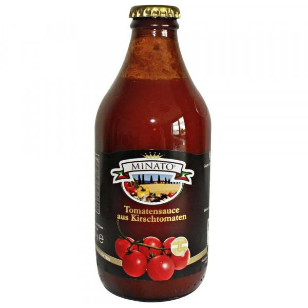 Tomatensoße aus Kirschtomaten