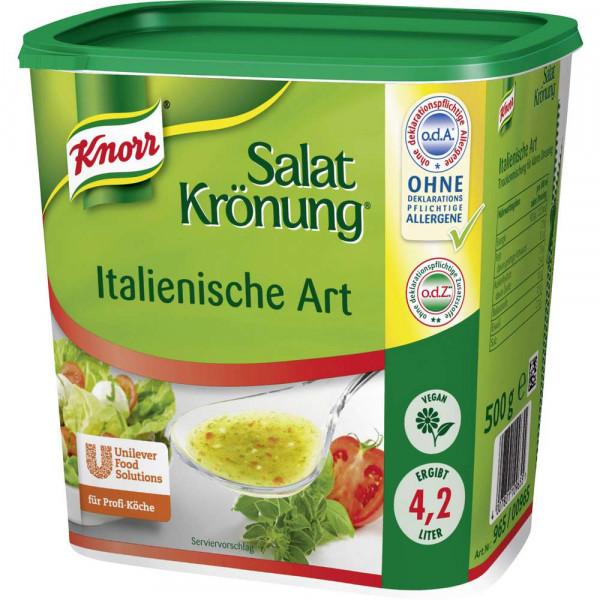 Salatkrönung, Italienische Art